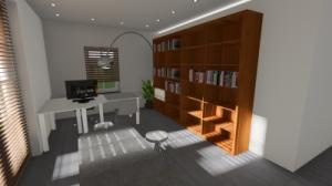Verbazingwekkend OntwerpStudio 81   - Verbouwing garage tot kantoor FD-04
