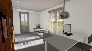 Wonderlijk OntwerpStudio 81   - Verbouwing garage tot kantoor IK-18